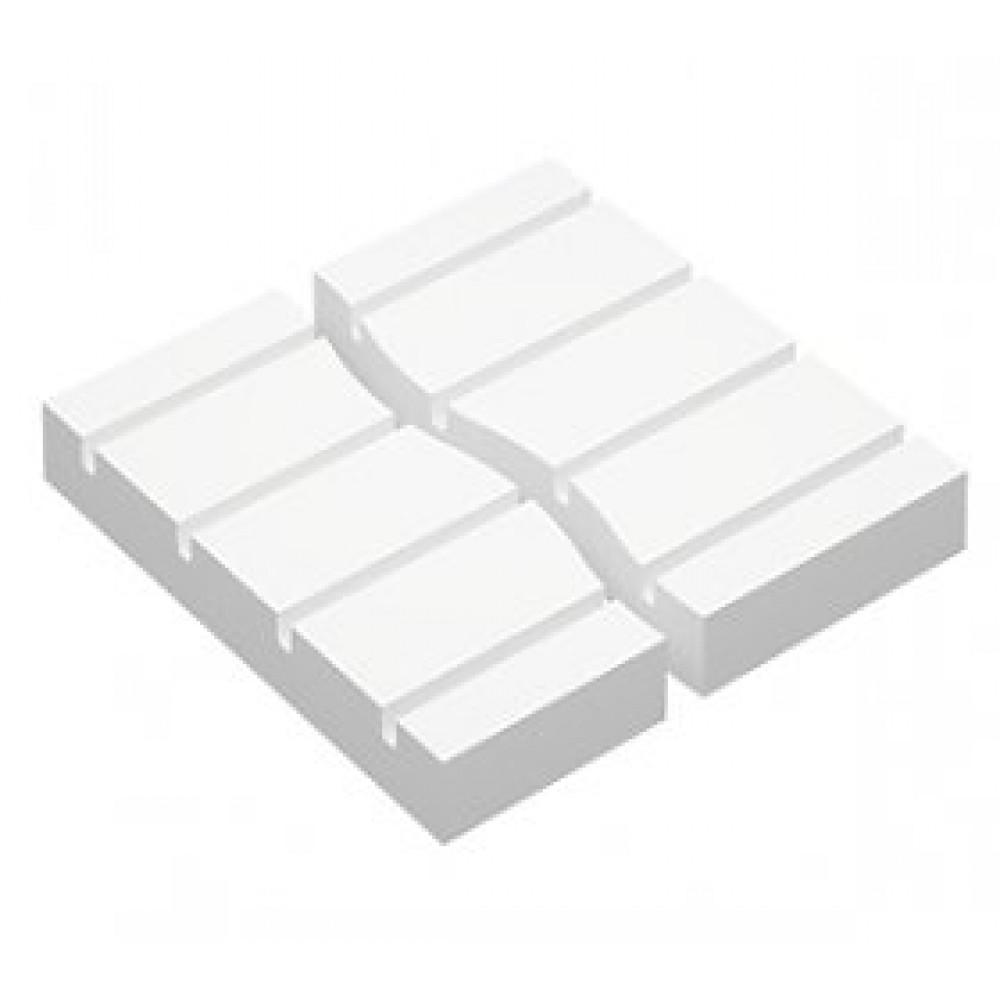 Прямая пластина полистирольной системы 30/50/70 мм, шаг 300