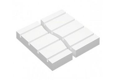 Прямая пластина полистирольной системы 30/50/70 мм, шаг 150